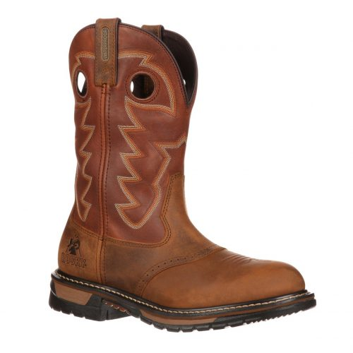 Laredo Branson Saddle Roper Boots