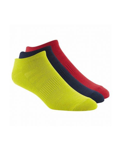 Reebok AB5306 CrossFit No Show Comfort Socks 3-Pack Socks