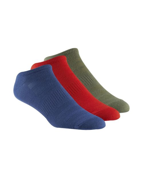 Reebok CrossFit No Show 3-Pair Socks