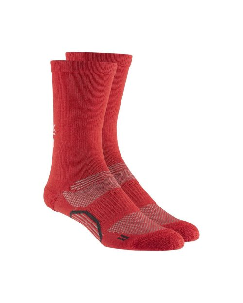 Reebok CrossFit Crew Comfort Red Socks