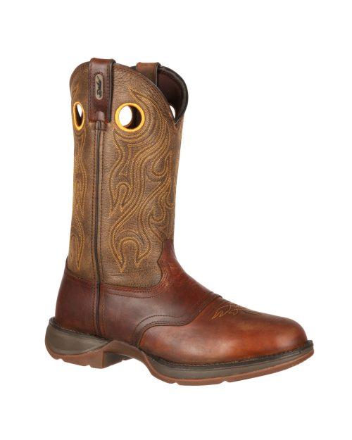 Durango  Rebel Brown Saddle Boots