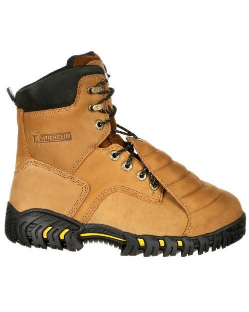 "Michelin Sledge 8"" Steel Toe Boots"