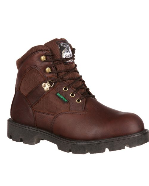 Georgia Homeland Waterproof Steel Toe Work Boots