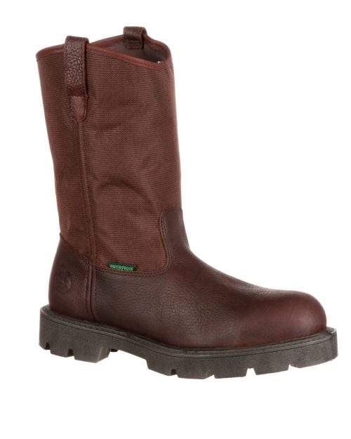Georgia Homeland Steel Toe Waterproof Wellington Boots