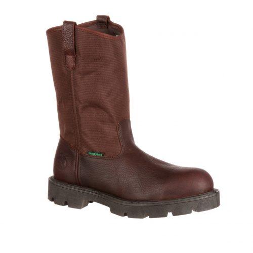 Georgia Homeland Waterproof Wellington Work Boots