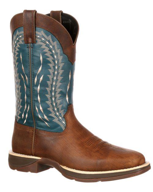 Durango Rebel Turquoise Boots