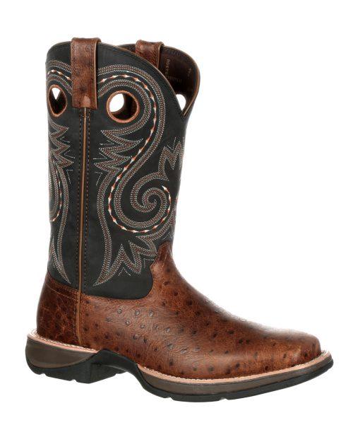 Durango  Rebel Ostrich Embossed Boots