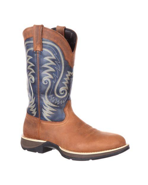 Durango  Rebel Waterproof Blue Boots