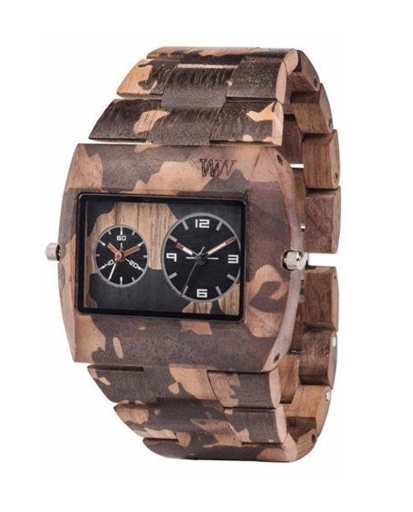 WeWood Jupiter Nature Camo Nut Watch