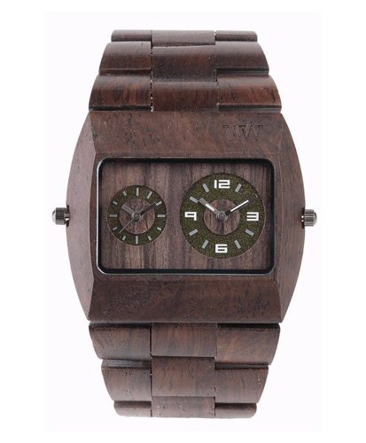 WeWood Jupiter Chocolate Watch