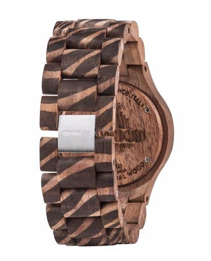 WeWood Date Nature Zebra Nut Watch