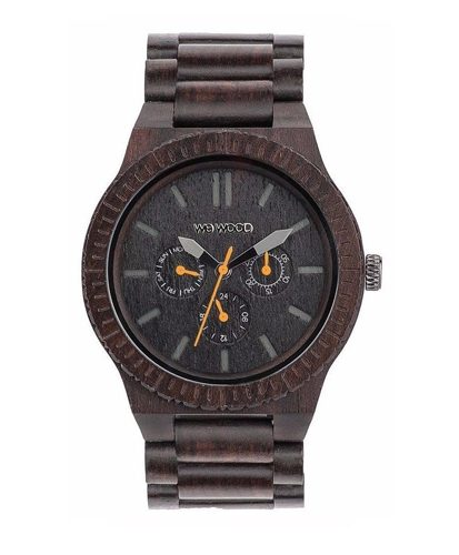 WeWood Kappa Black-Orange Watch