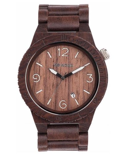 WeWood Alpha Chocolate Watch