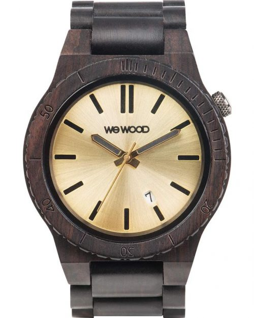 WeWood Arrow Black Gold Watch