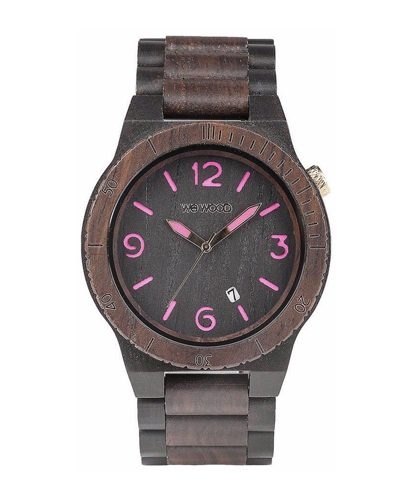 WeWood Alpha Black-Choco Watch