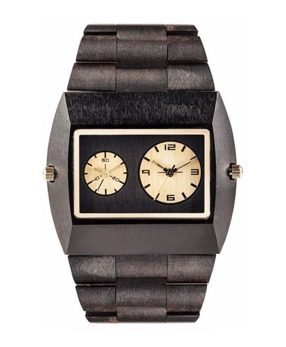 WeWood Jupiter Black Gold TL Watch