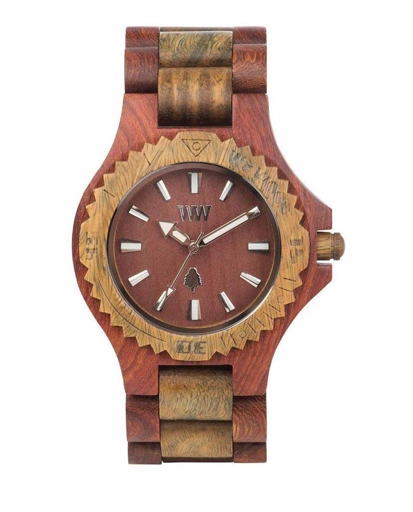 WeWood Date Cherry Army Watch