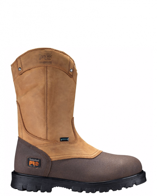 "Timberland Pro 8"" Rigmaster Wheat Steel Toe Wellington Boot"