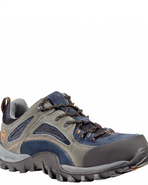 Timberland Pro Mudsill Grey/Sapphire Suede Steel Toe Work Shoes