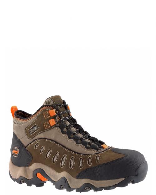 Timberland Pro Mudslinger Brown Nubuck Steel Toe Work Boots
