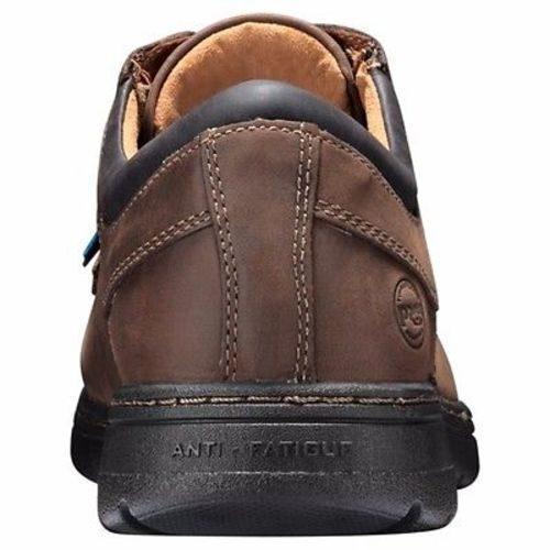 Timberland Pro Branston Brown Full-Grain Alloy Toe Work Boots