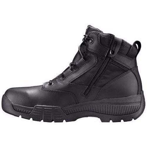 """Timberland Pro 6"""" Valor Black Smooth Soft Toe Work Boots"""