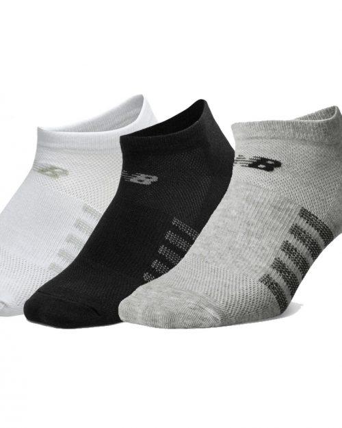 New Balance No Show 6 Pack Mech Socks