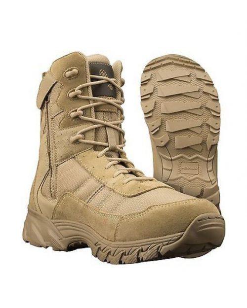 "Altama Vengeance 8"" Tan Military Boots"