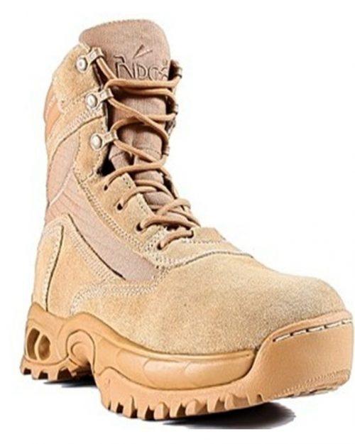 Ridge Outdoors Desert Storm Side Zip Military Boots