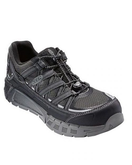 Keen Asheville AT ESD Work Shoes (BL)