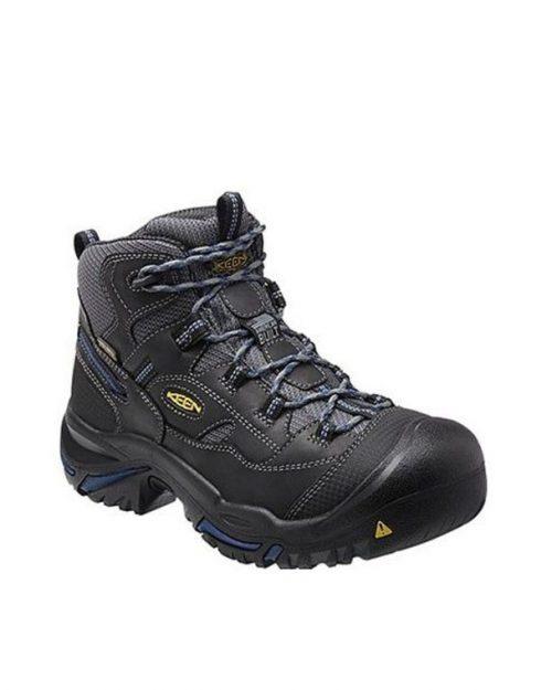Keen Braddock Raven-Estate Blue Work Boots