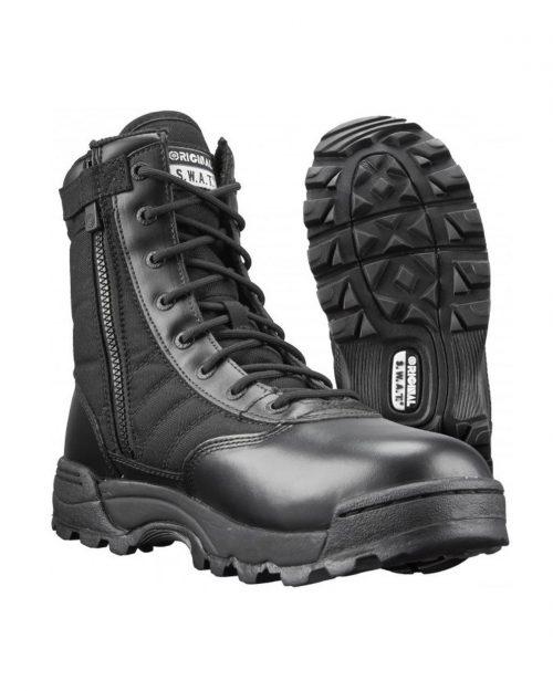 "Original S.W.A.T 9"" Classic Side-Zip Tactical Boots"