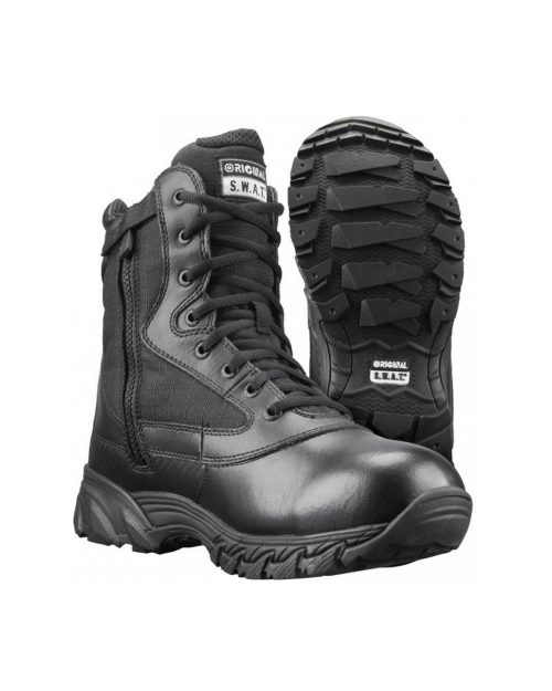 "Original S.W.A.T Chase 9"" WP Side-Zip Tactical Boots"