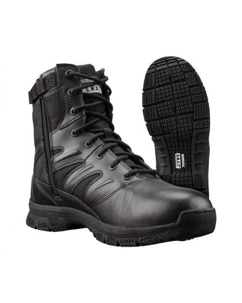 "Original S.W.A.T Force 8"" Side-Zip Tactical Boots"