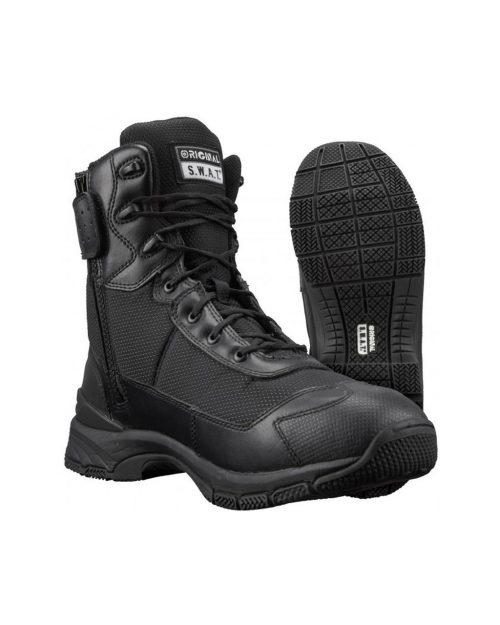 "Original S.W.A.T H.A.W.K. 9"" Side Zip Tactical Boots"