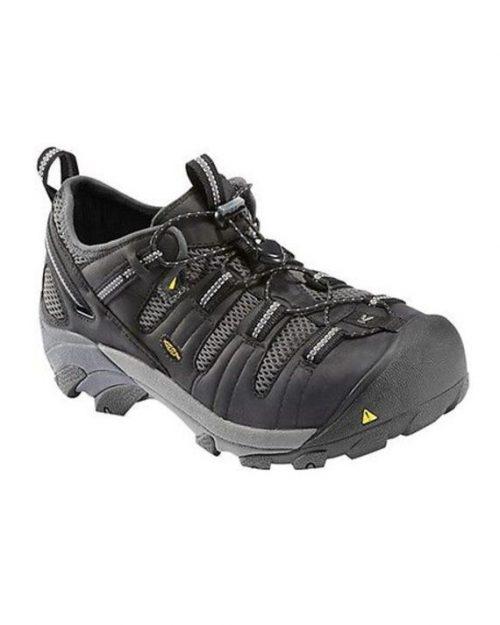 Keen Atlanta Cool Black Steel Toe Waterproof Work Shoes