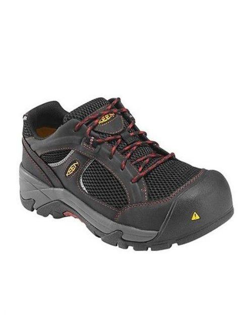 Keen Albany Black Nova Composite Toe Work Shoes