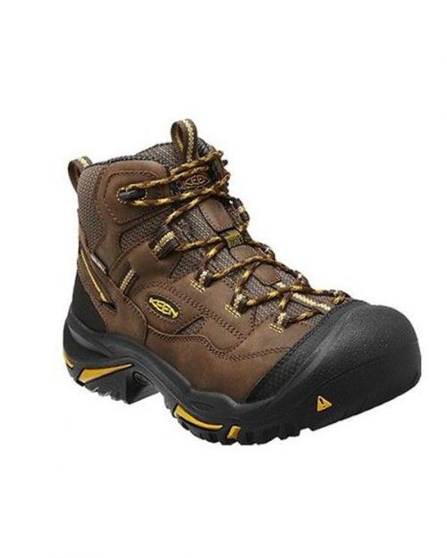 Keen Braddock Cascade Brown Steel Toe Work Boots