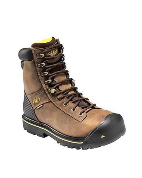 Keen Wenatchee Brown Steel Toe Work Boots