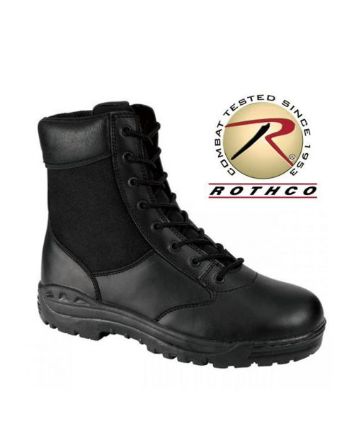 """Rothco 8"""" Forced Entry Black Security Boots"""