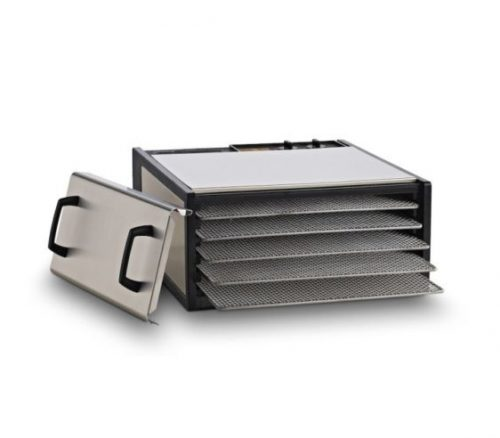 Excalibur Stainless Steel 5-tray Food Dehydrator