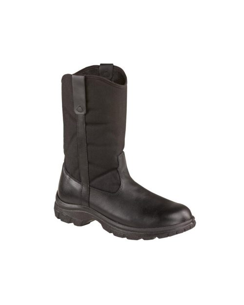 "Thorogood 10"" Softstreets Wellington ST Black Work Boots"