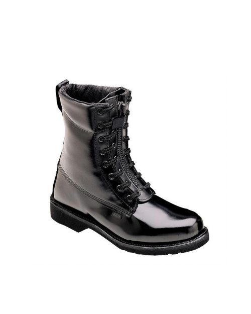 "Thorogood 8"" Station Black Uniform Boots"