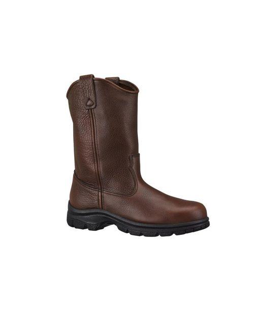 "Thorogood 10"" American Heritage Signature Wellington SAT Brown Work Boots"