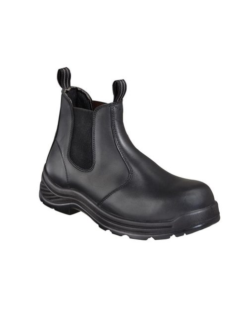 """Thorogood 6"""" Station Quick Release CT Black Work Boots"""