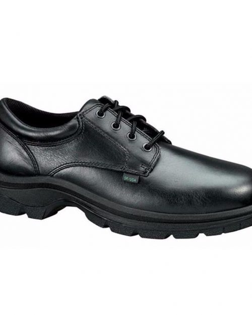 "Thorogood 4"" Softstreets SFT Black Work Oxfords"