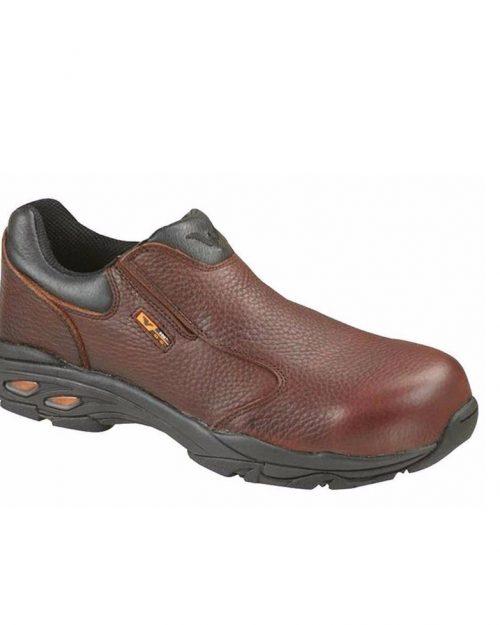 Thorogood I-Met Slip-On CT EH Brown Work Shoes