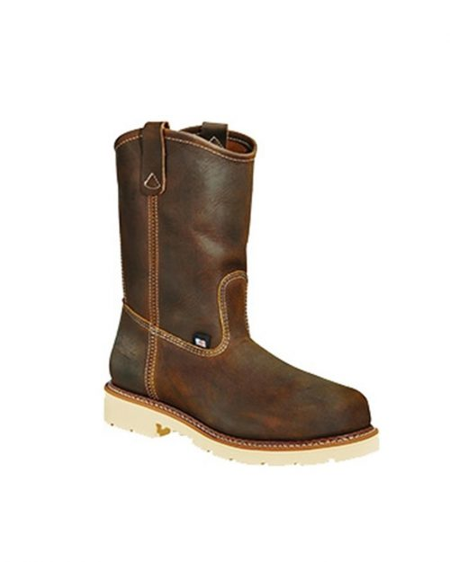 "Thorogood 11"" American Heritage Classic Wellington Brown Work Boots"