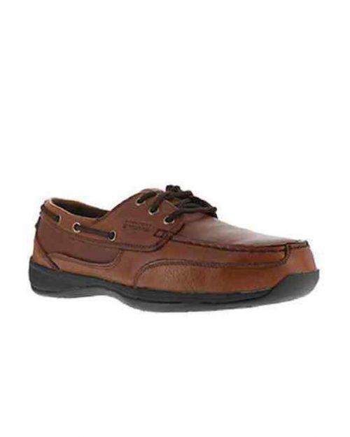 Rockport Sailing Club ST Dark Brown Work Shoes