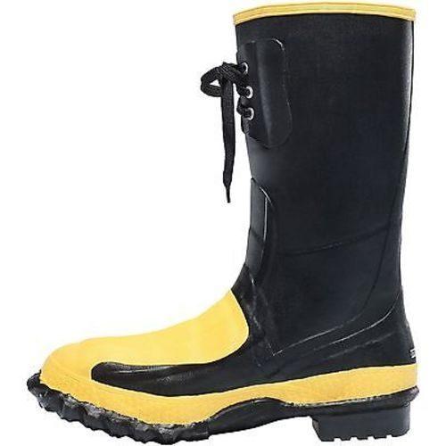 """LaCrosse 12"""" Meta-Pac Black Industrial Boots"""